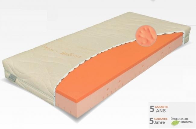 matelas starvisco mémoire de forme luxe. 140x190 cm, épaisseur 24 cm, materasi