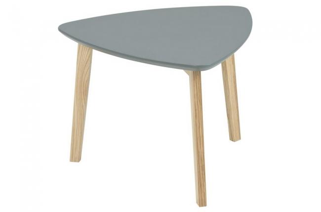table basse violene, plateau en bois, laquée