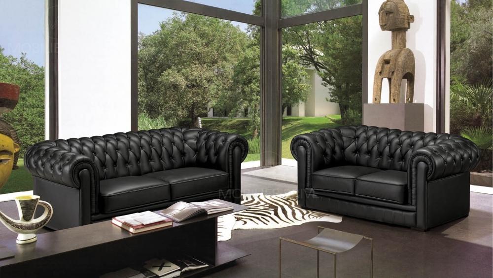 Schwarz Wei Sofa