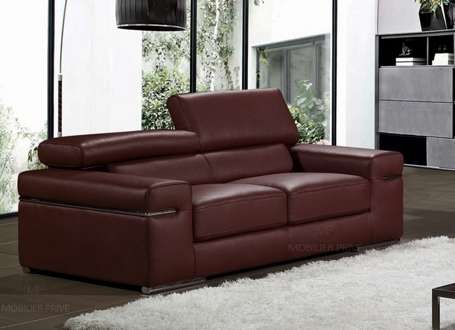 Canap mobilier priv - Canapes cuir italiens ...