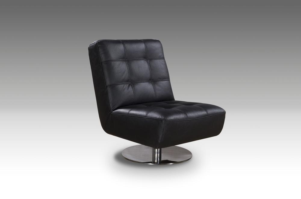 Fauteuil De Bureau Design Leni Noir