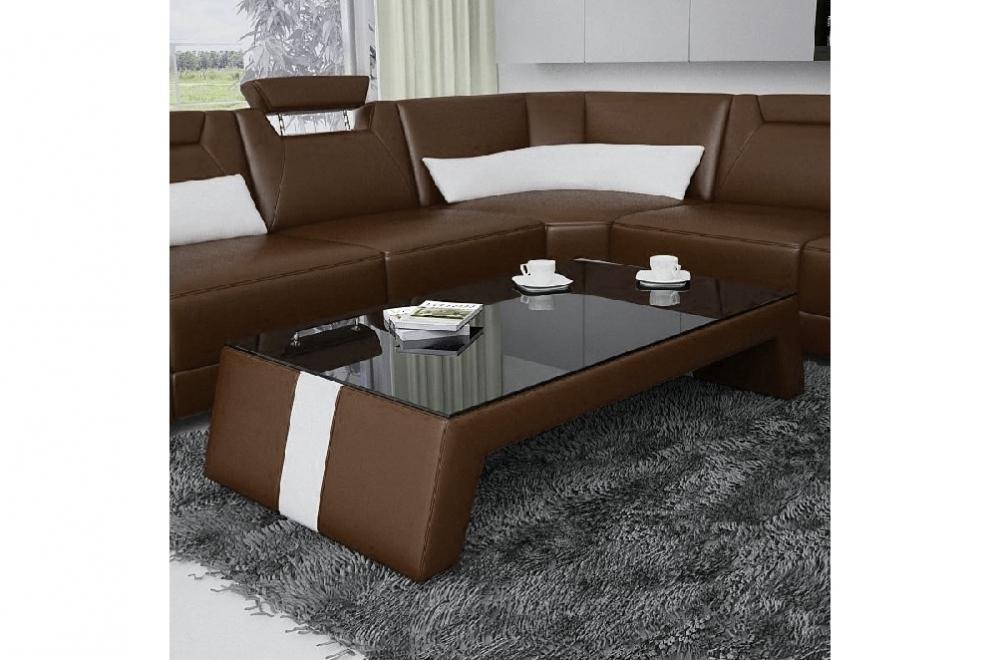 table basse design siara chocolat mobilier priv. Black Bedroom Furniture Sets. Home Design Ideas