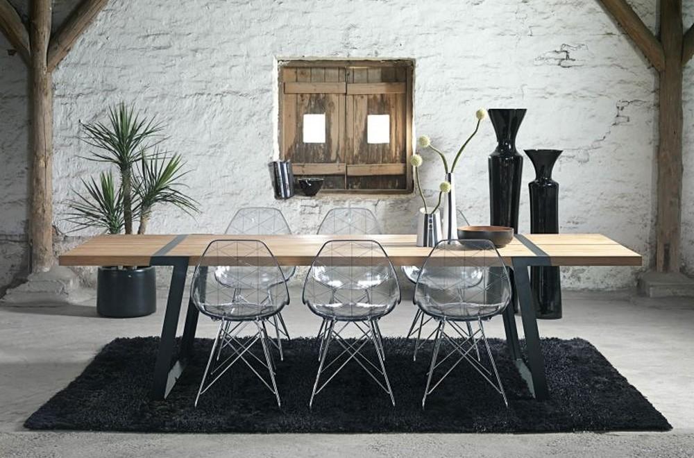 Grande Table A Manger Gigant De Marque Canett Modele 290 Cm De