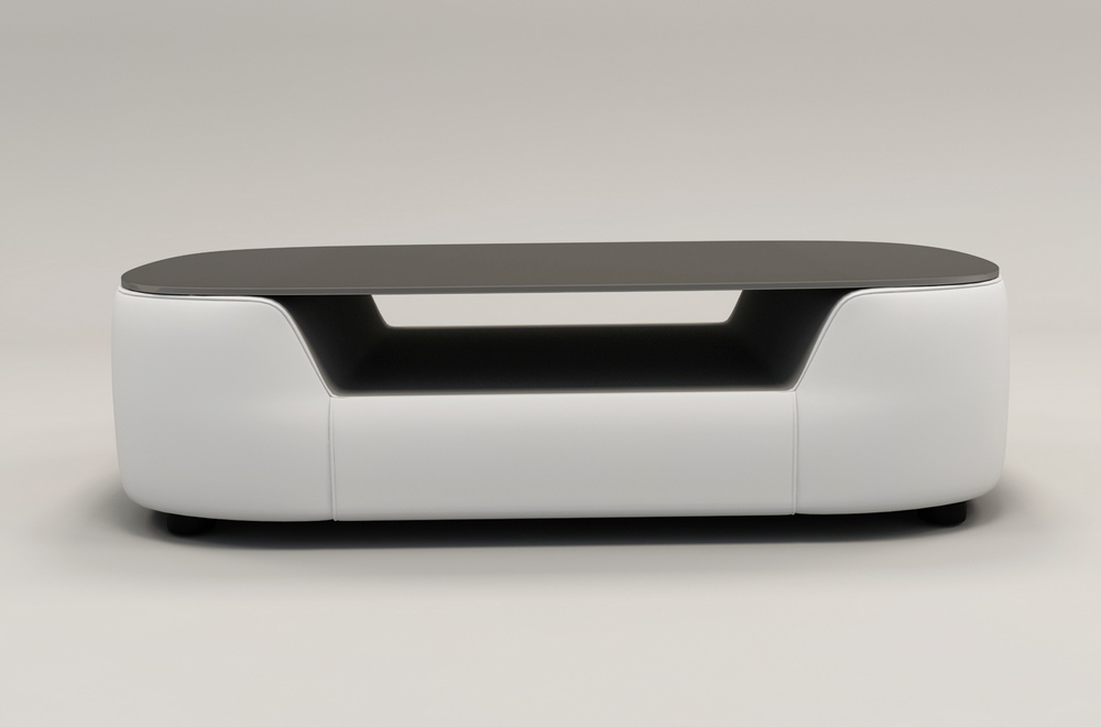 DesignPlateau Basse Table Verre De FoncéAlesiaBlanc dxWQCreBoE