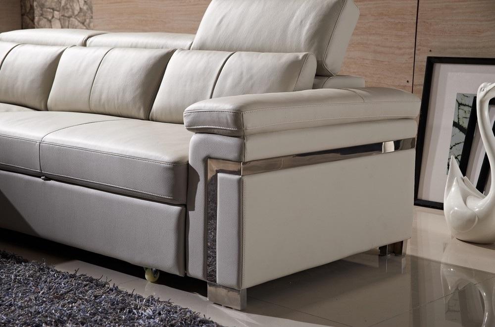 canap d 39 angle convertible en cuir buffle italien 5. Black Bedroom Furniture Sets. Home Design Ideas