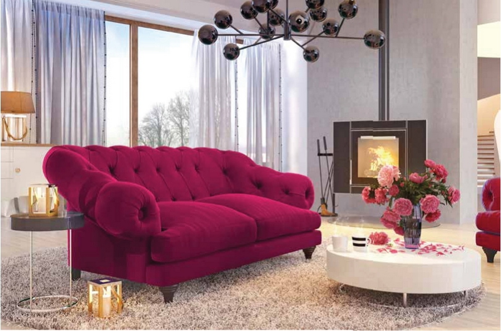 fauteuil 1 place en tissu de qualit chambord marron fonc mobilier priv. Black Bedroom Furniture Sets. Home Design Ideas