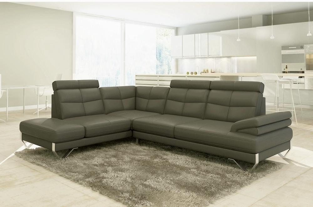 canap d 39 angle artiste en cuir haut de gamme italien. Black Bedroom Furniture Sets. Home Design Ideas