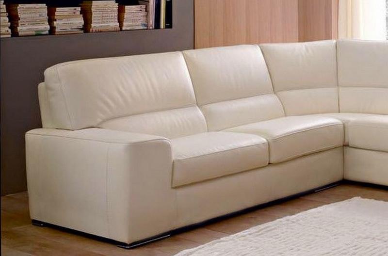 canap d 39 angle barsano en cuir haut de gamme italien. Black Bedroom Furniture Sets. Home Design Ideas