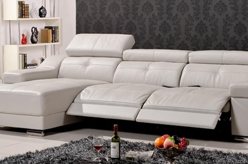 canap d 39 angle double relax en cuir de buffle italien de luxe 5 places birelax blanc angle. Black Bedroom Furniture Sets. Home Design Ideas