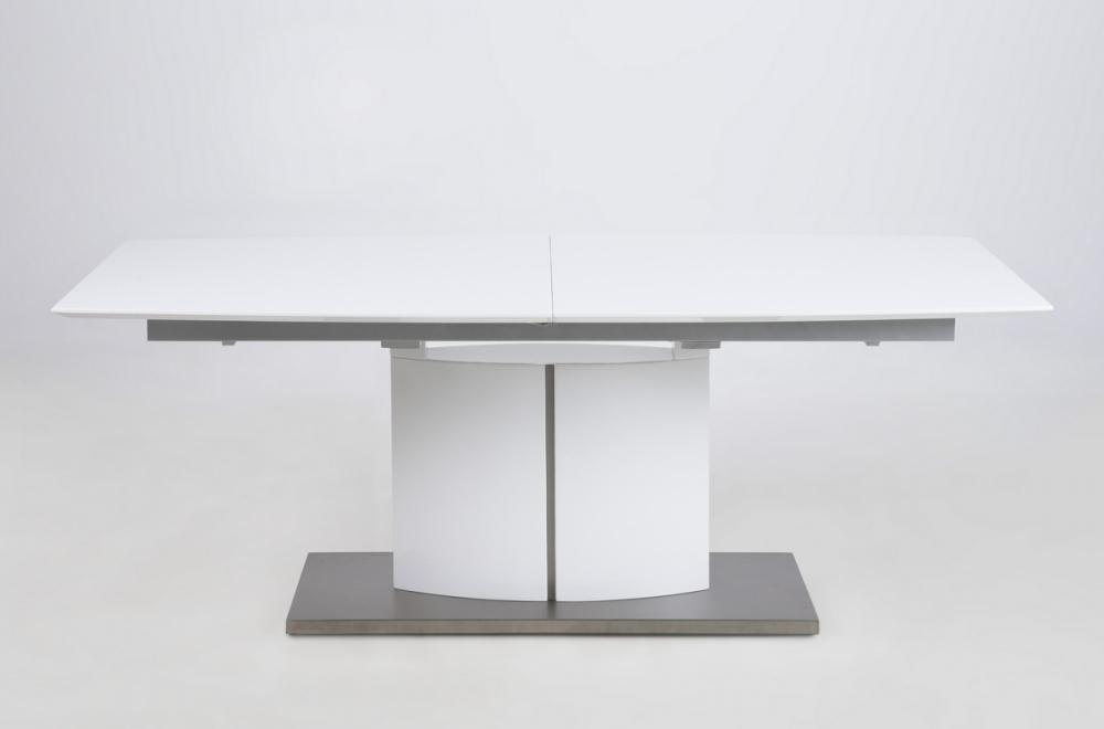 Table A Manger Avec Rallonge.Table A Manger Design Laque Blanc Mat A Rallonges Canada