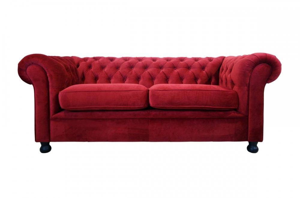 canap 3 places en tissu de qualit chesterfield bordeaux mobilier priv. Black Bedroom Furniture Sets. Home Design Ideas