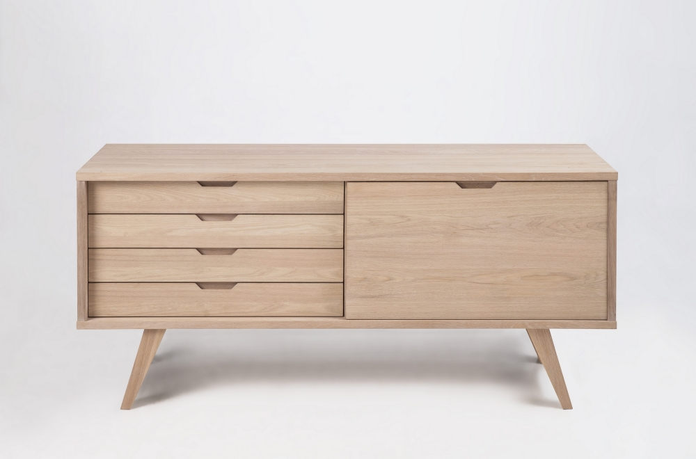 Buffet design en bois de qualit isten mobilier priv - Buffet contemporain design ...