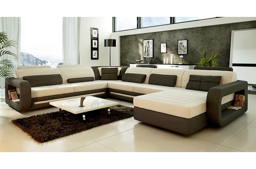 canap d 39 angle atlanta en cuir haut de gamme italien vachette v n setti cuir prestige luxe ecru. Black Bedroom Furniture Sets. Home Design Ideas