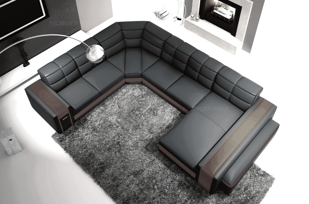 les concepteurs artistiques tres grand canape design. Black Bedroom Furniture Sets. Home Design Ideas
