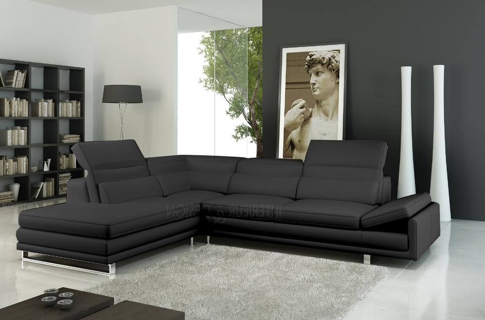 canap d 39 angle italia en cuir haut de gamme italien. Black Bedroom Furniture Sets. Home Design Ideas