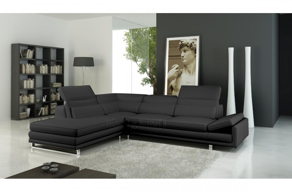canap d 39 angle italia en cuir haut de gamme italien vachette v n setti tout cuir prestige luxe. Black Bedroom Furniture Sets. Home Design Ideas