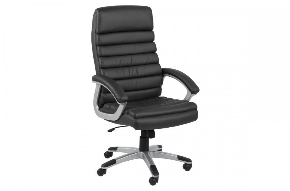 Fauteuil de bureau confortable en simili cuir de qualité lyona