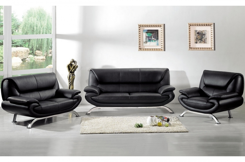ensemble passy 3 pi ces canap 3 places 2 places fauteuil en cuir luxe italien vachette. Black Bedroom Furniture Sets. Home Design Ideas