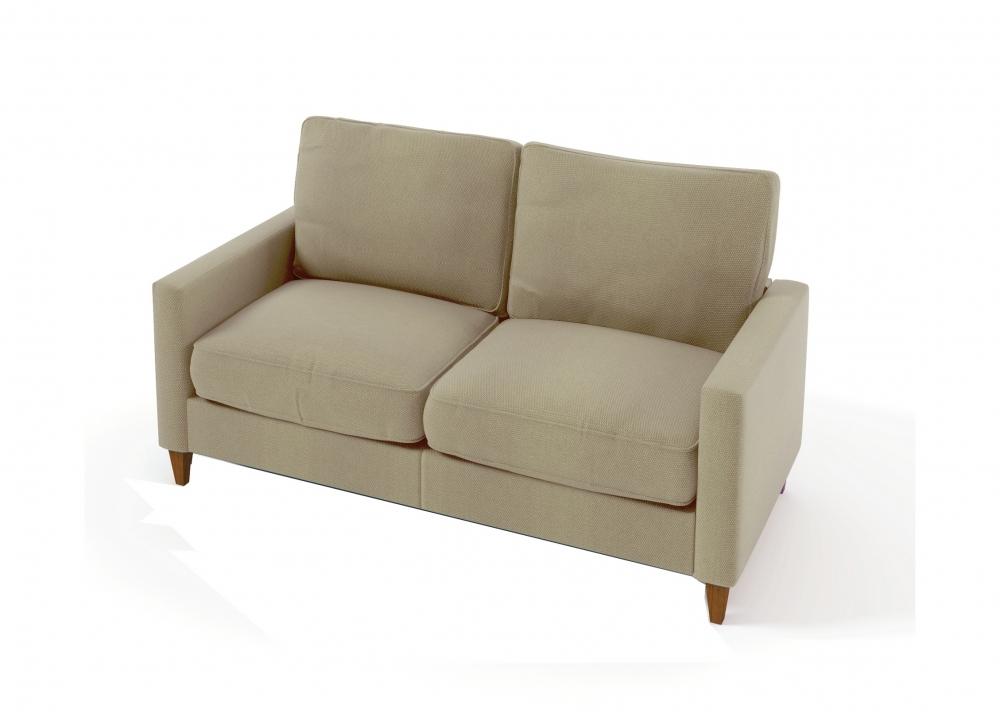 canap 2 places en tissu de qualit sweden beige mobilier priv. Black Bedroom Furniture Sets. Home Design Ideas