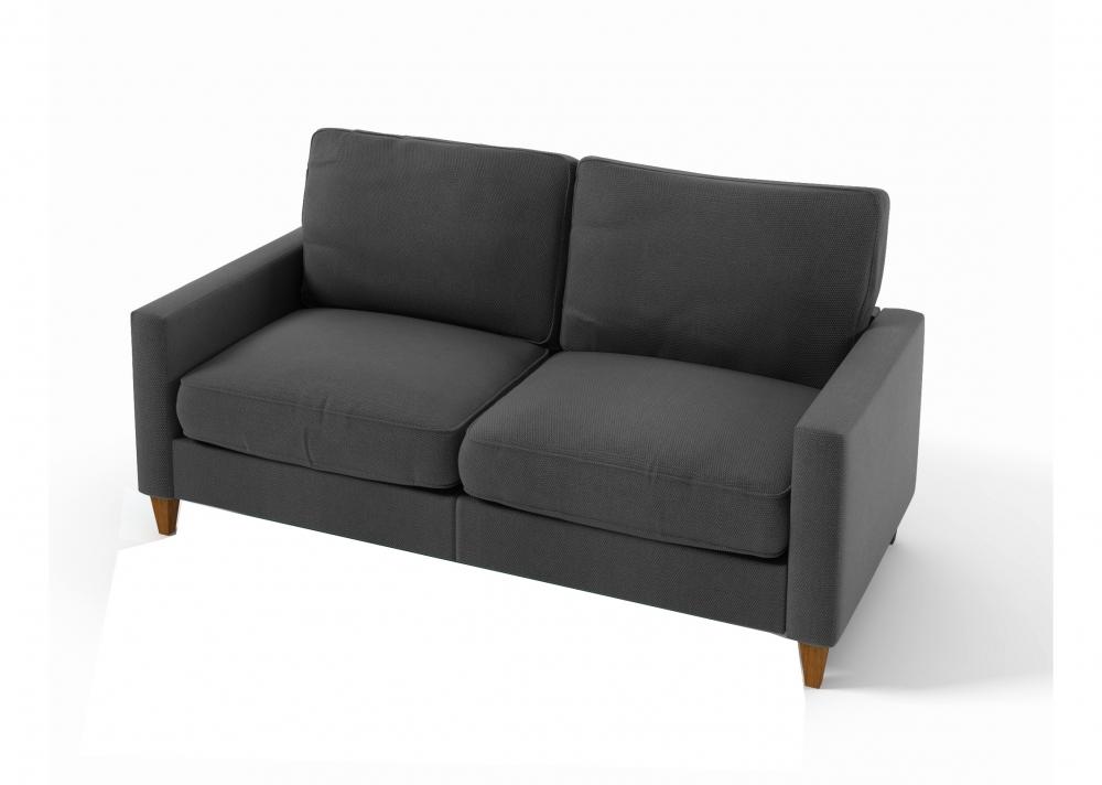 canap 3 places en tissu de qualit sweden gris mobilier priv. Black Bedroom Furniture Sets. Home Design Ideas