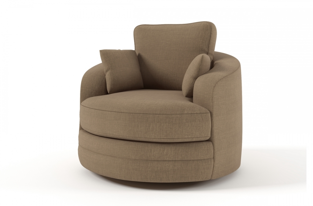 fauteuil pivotant tissu maison design. Black Bedroom Furniture Sets. Home Design Ideas