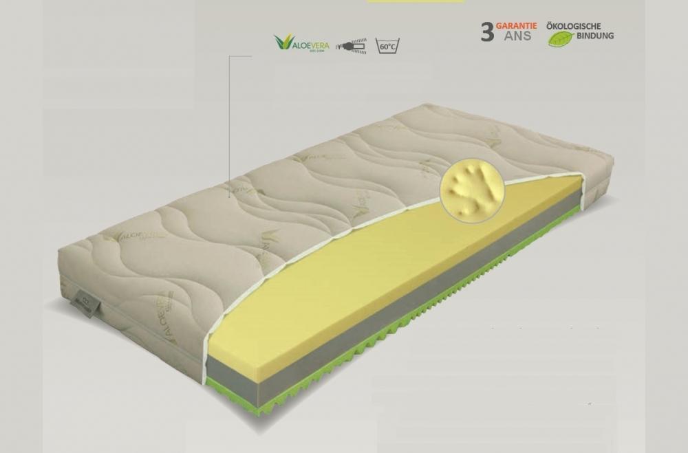 matelas thermo pur confort mousse m moire de forme luxe 140x200 cm paisseur 19cm materasi. Black Bedroom Furniture Sets. Home Design Ideas