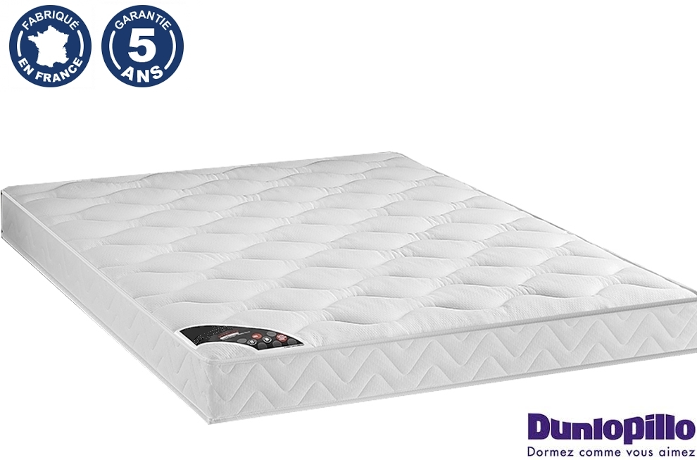 matelas vitality 160x200 100 latex dunlopillo mobilier priv. Black Bedroom Furniture Sets. Home Design Ideas