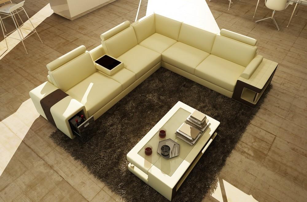 canap d 39 angle en cuir luxe italien 5 6 places xerus cuir haut de gamme italien vachette cuir. Black Bedroom Furniture Sets. Home Design Ideas